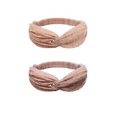 Glitter Knot Headband