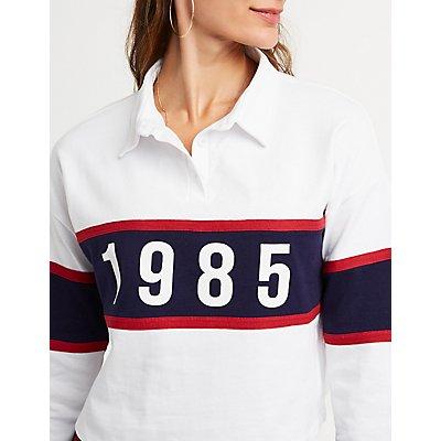 1985 Color Block Polo