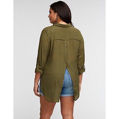 Plus Size Shirts Blouses Charlotte Russe