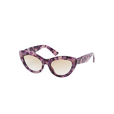 Resin Cateye Sunglasses