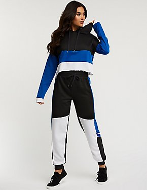 Color Block Jogger Pants