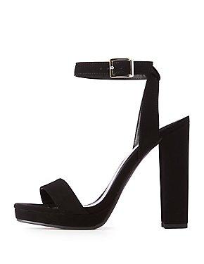 Crisscross Ankle Strap Dress Sandals