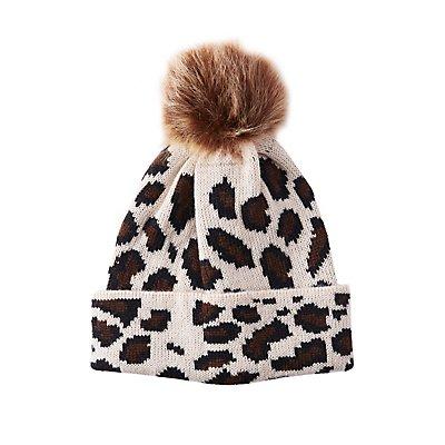 Leopard Pattern Beanie