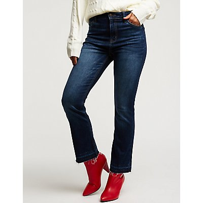 Cello High Rise Boot Cut Jeans