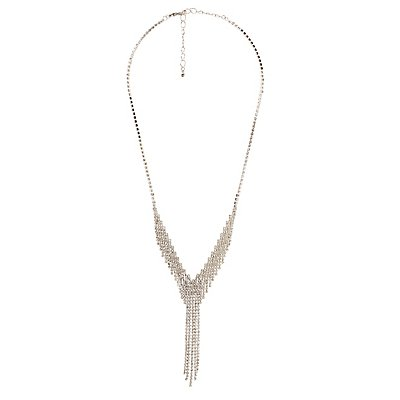 Crystal Mesh Necklace