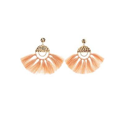 Tassel Fringe Drop Earrings