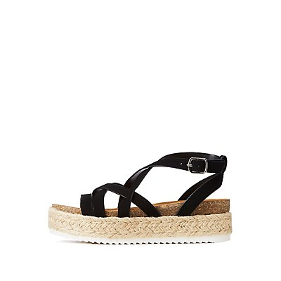 Crisscross Espadrille Sandals