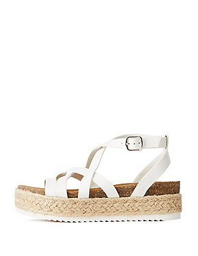 Crisscross Espadrille Sandals