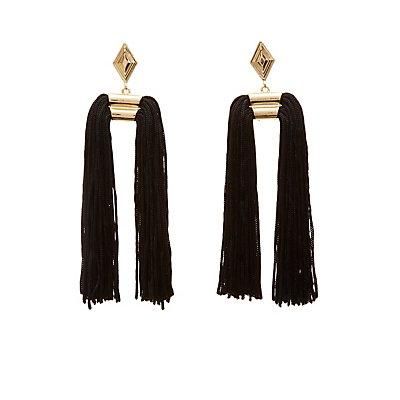 Fringe Drop Earrings