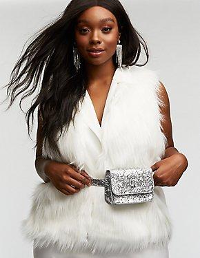 Glitter Belt Bag