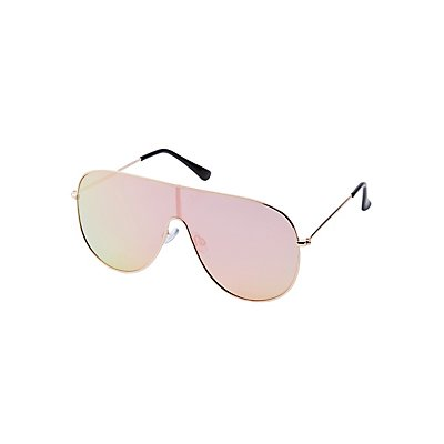 Shield Aviator Sunglasses