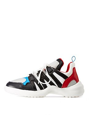 Colorblock Chunky Sneakers