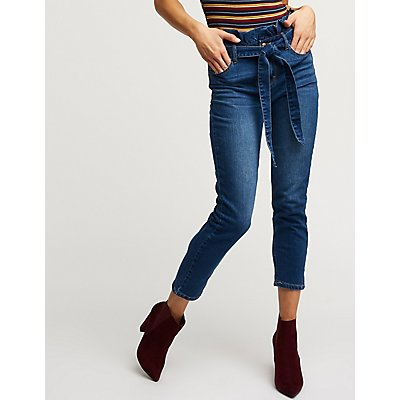 Cello Paperbag Skinny Jeans