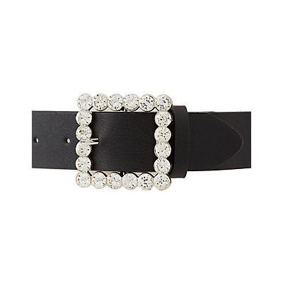 Crystal Buckle Belt