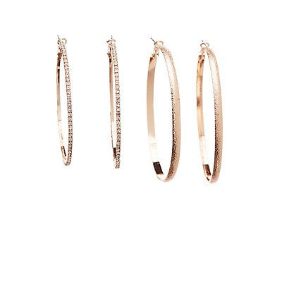 Hoop Earrings - 3 Pack