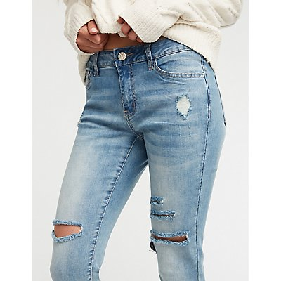 Refuge Crop Boyfriend Jeans