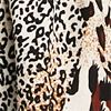 Mixed Animal Print Skater Dress