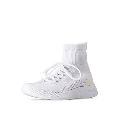 Sock Lace Up Sneakers