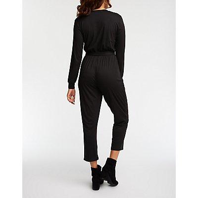 Henley Knit Jumpsuit