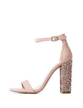 ceee77cd610 Heels: Open Toe, Closed Toe & Platform | Charlotte Russe