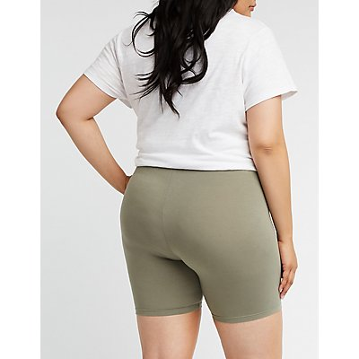 Plus Size Bike Shorts