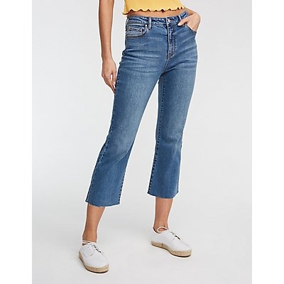 Refuge Mid Rise Crop Leg Jeans