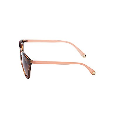 Tortoise Cateye Sunglasses