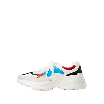 Tri Color Chunky Sneakers