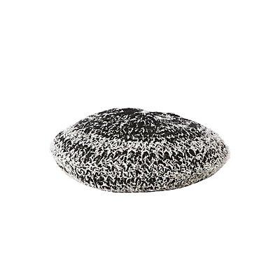 Fuzzy Knit Beret