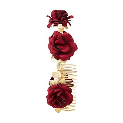 Braided Rose Headband