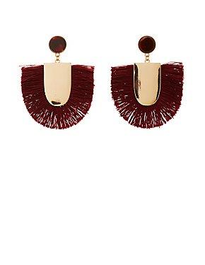 Fringe Metal Earrings