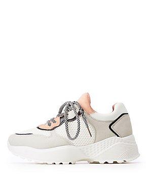 Mesh Chunky Sneakers