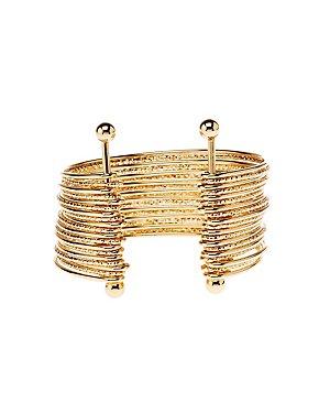 Textured Cuff Bracelet