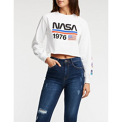 NASA 1976 Crop Top