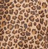 Plus Size Leopard Print Button Up Dress
