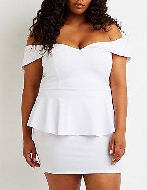 Plus Size Dresses for Women: Sequin, Off The Shoulder ...