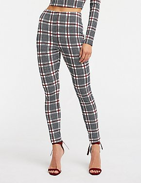 e0a94110ad2b2f Leggings: High-Waisted, Cropped & Ankle | Charlotte Russe
