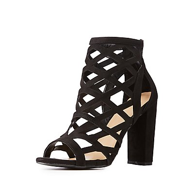 Caged Dress Sandals