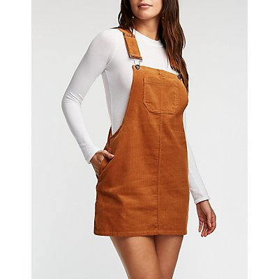 Corduroy Overall Jumper
