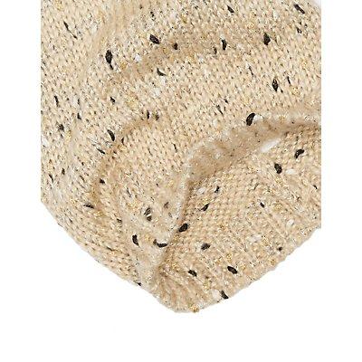 Marled Knit Beanie