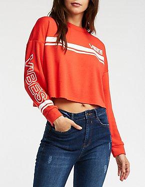 Vibes Crew Neck Sweatshirt