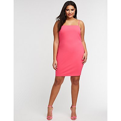 Plus Size Mini Bodycon Dress