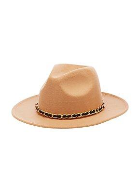 Chainlink Felt Panama Hat
