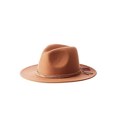 Felt Panama Braided Hat