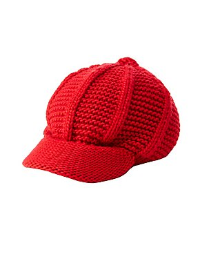 Crochet Cabby Hat