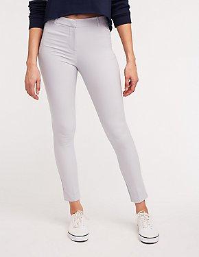 Slim Leg Crop Trousers
