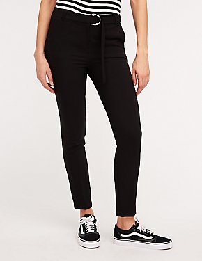 O Ring Slim Leg Trousers