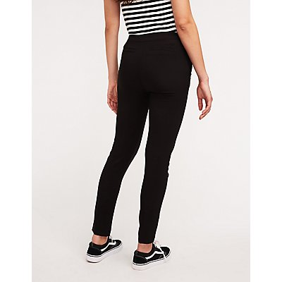 O Ring Slim Leg Trousers