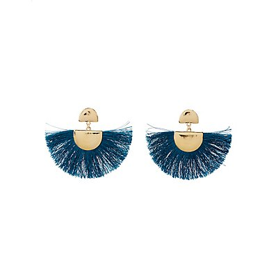 Fringe Metal Earrings