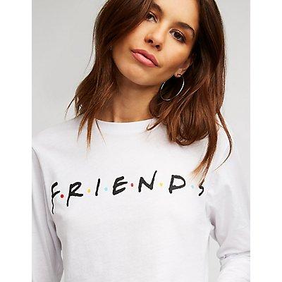 Friends Crop Tee